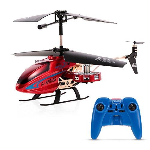 Goolsky RCヘリコプター SJ R/C SJ280 4.5CH 金属合金 赤外線コントロール ジャイロスコープ付き キッズ おもちゃ 子供 ギフト