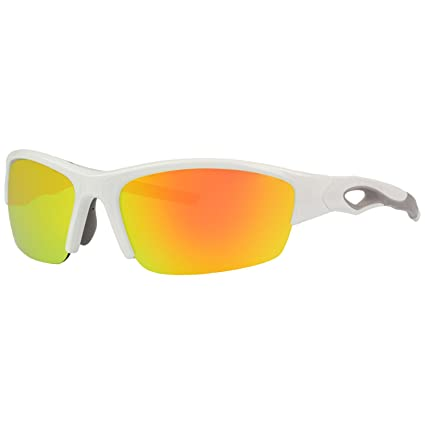 964a3f32205 Rawlings 32 Mirrored Sunglasses White Red  Amazon.ca  Sports   Outdoors