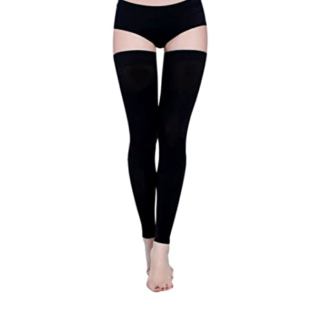 ef333a9d02 thigh high compression socks firm support 20 30 mmhg gradient compression  stockings with silicone