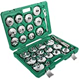 31 pcs Auto Oil Filter Wrench Socket Cup Type Cap Removal Tools Set