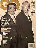 GQ MAGAZINE - DECEMBER 2019 - (THE 2019 MEN OF THE YEAR) THE GODFATHERS: AL PACINO AND ROBERT DE NIRO