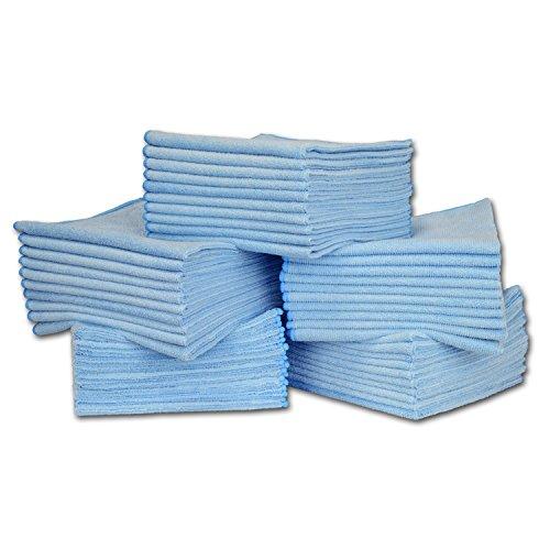 Blue Microfiber Towel - 16