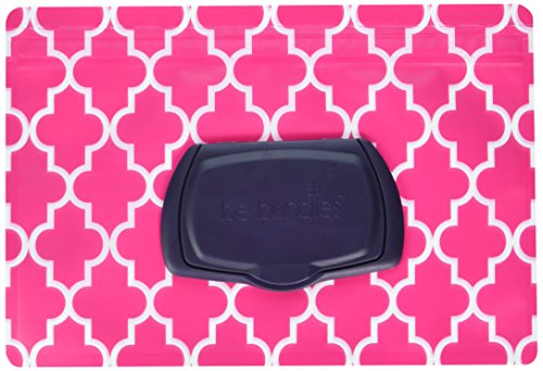 Refillable Cd Holder - Wet Wipes Pouch, Lattice