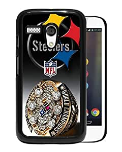 Fashionable And Unique Designed Case For Motorola Moto G Phone Case With Pittsburgh Steelers Black