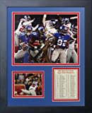 """Legends Never Die """"2007 New York Giants Super Bowl Champions"""" Framed Photo Collage, 11 x 14-Inch"""