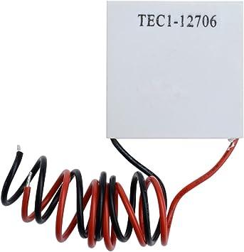 2PCS TEC1-12710 Heatsink Thermoelectric Cooler Cooling Peltier Plate Module