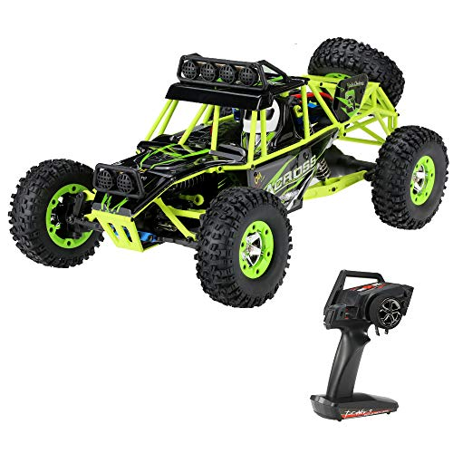 Goolsky Wltoys 12428 1/12 2.4G 4WD Electric Brushed Crawler RTR RC Car