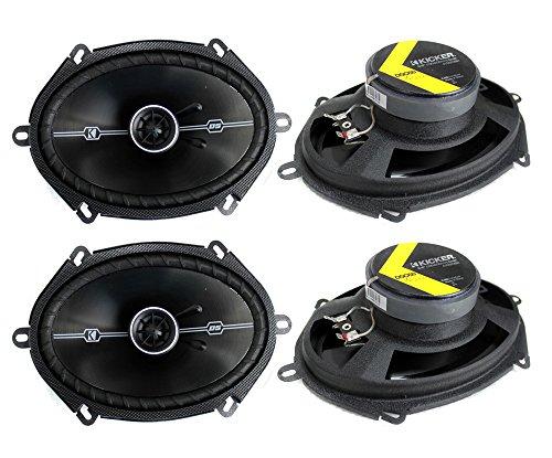 4 Kicker 41DSC684 D-Series 6x8 400 Watt 2-Way 4-Ohm Car Audi