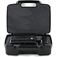 Hard Storage Carrying Case For Mini Portable Printer Carry Travel Case - Fits Canon Selphy CP1200, CP910 Wireless Color Photo Printer, Ink Cartridges, Photo Paper and Cables