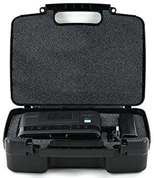 Storage Organizer - Compatible With Canon Selphy Cp1200, Cp910 Wireless Color Photo Printer & Accessories- Durable Carrying Case - Black 0