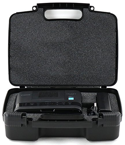 Life Made Better Storage Organizer - Compatible with Canon Selphy CP1200, CP910 Wireless Color Photo Printer And Accessories- Durable Carrying Case - (Duplex Printing Black Copiers)