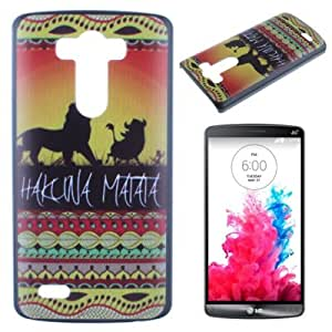 Einzige Slim Fit Hard Skin Case Cover for LG G3 (MATATA 01) with Free Universal Screen-Stylus