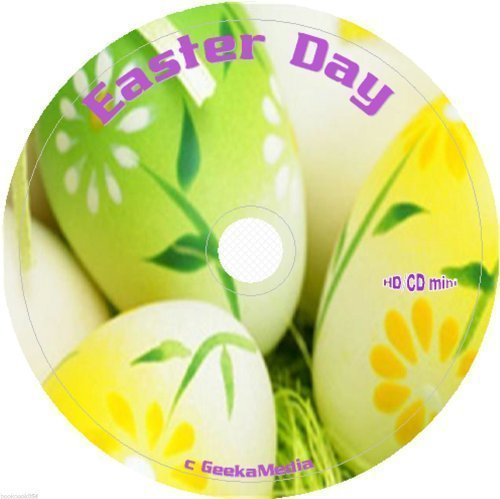 Easter Day, Planner, Cookbooks, Crafts and Activities on cd