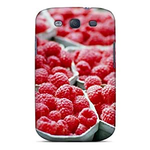 New Shockproof Protection Case Cover For Galaxy S3/ Raspberries Food Case Cover