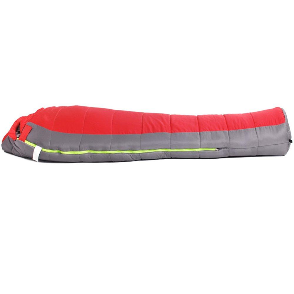 ZXQZ Schlafsack Adult Outdoor Camping Kapuzenschlafsack Indoor Plus Dicke Warme Warme Warme Schlafsack Mumienschlafsäcke (Farbe   Blau, größe   1.8KG) B07CJ883MW Mumienschlafscke Heißer Verkauf 975c36