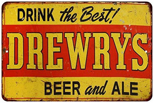 drink-the-best-drewrys-beer-ale-vintage-reproduction-metal-sign-8x12-8123447