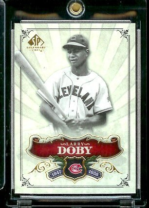 2006 Upper Deck SP Legendary Cuts # 82 Larry Doby - Cleveland Indians - Baseball Trading Card