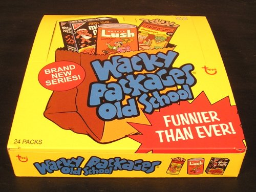 Wacky Packages Old School Series 2 Display Box with 24 Sealed Packs and (Wacky Packages Poster)