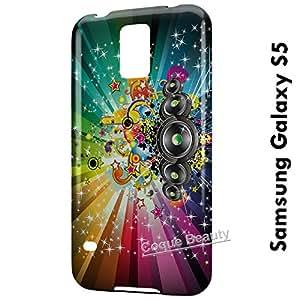 Carcasa Funda Galaxy S5 Pop Music Protectora Case Cover