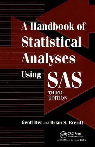 Manual sas version 9 1 ebook array amazon com a handbook of statistical analyses using sas third rh amazon com fandeluxe Image collections