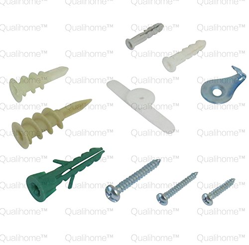 Qualihome Drywall And Hollow Wall Anchor Assortment Kit