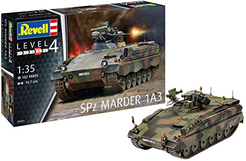 Revell 03261 1:35 Scale Spz Marder 1 A3 Model