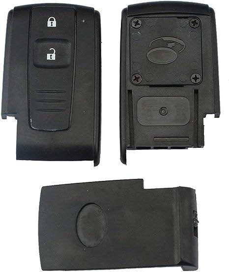 Imagen deLianLe 2 Botón Carcasa de Mando Key para Toyota Prius