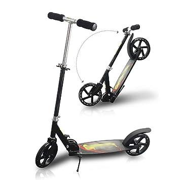 WYQ Kick Scooter for Adultos, Aleación de Aluminio Commuter ...