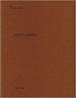 Kast Kaeppeli De Aedibus English And German Edition