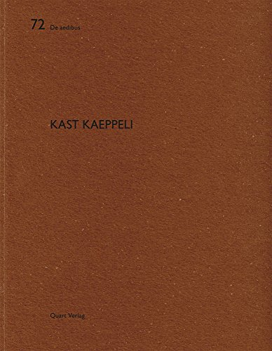 Kast Kaeppeli: De aedibus (English and German Edition)