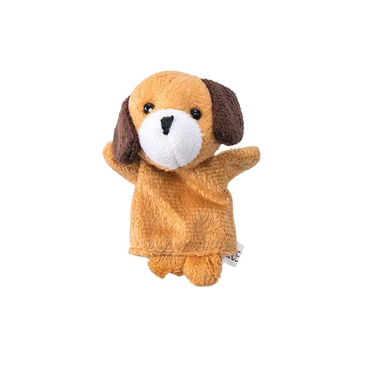 Mengger Burattini a Dito Animali Persone Didattica Giocattolo 12 Pezzi Set Diverso Cartoon Animale Morbido Velluto Bambole Props Giocattoli Impostato Regalo di Natale per Bambini Marionette da Dita