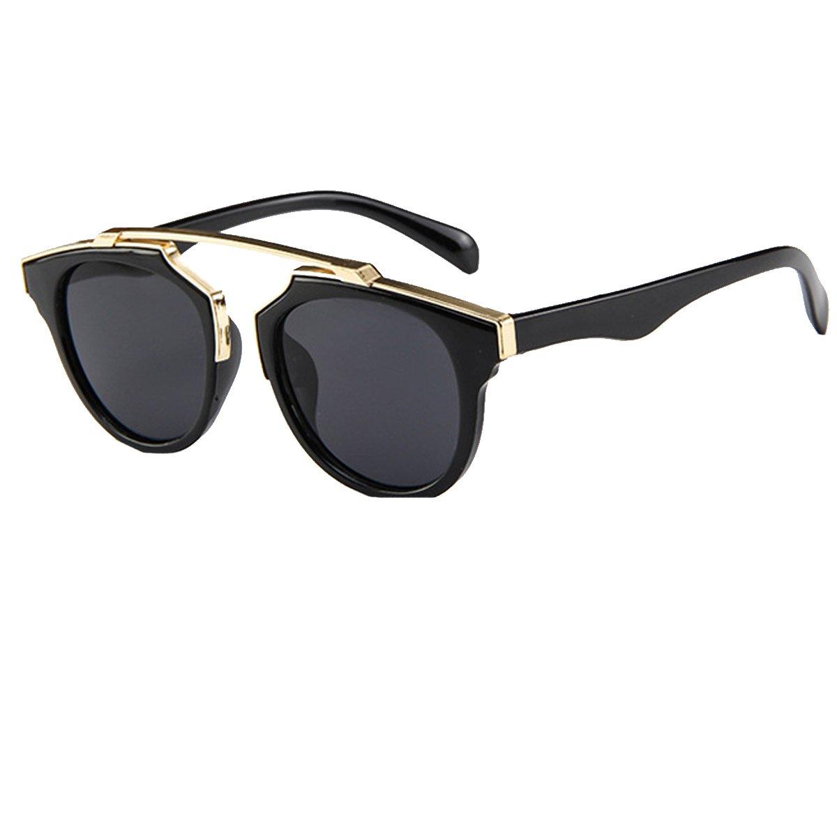 LABANCA Kids Chic Flat Lenses UV Protection Sunglasses Fashion Style Sunglasses Eyes Protection Eyewear for Boys and Girls Children