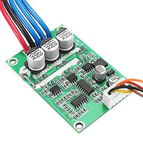 LaDicha Dc 12V-36V 500W Ad Alta Potenza Motore Brushless Controller Board Driver Assemblato Nessuna Sala