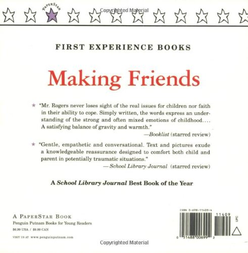 making friends mr rogers fred rogers amazoncom books