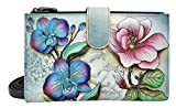 Anuschka Large Smart Phone Case FF, Floral Fantasy, One Size