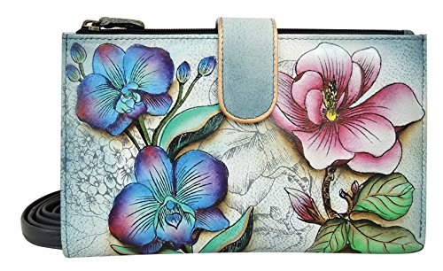 Anuschka Large Smart Phone Case FF, Floral Fantasy, One Size by Anna by Anuschka