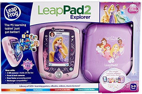 LeapFrog LeapPad 2 Explorer Disney Princess Bundle (Manufacturer's Age: 3 - 9