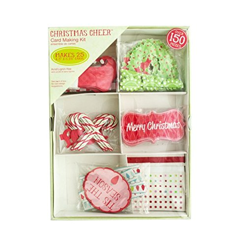 ... Crafts Craft Supplies Card Making Kit  Christmas Card Making Kit With  150 Pieces