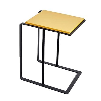 457d93350cfb Amazon.com: XBBZ Simple Modern Living Room Side Table, Stylish Metal ...