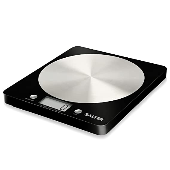 Amazon Salter Electronic Kitchen Scale Black Digital Kitchen