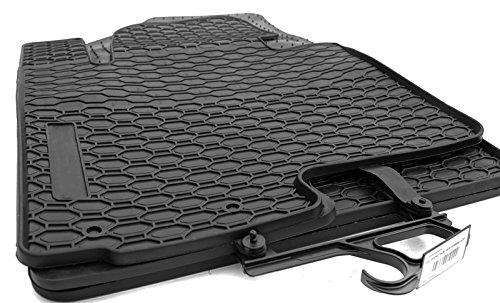 Fußmatten Kia Sportage III Original Qualität Auto Gummimatten 4.teilig - schwarz