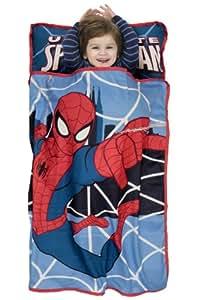 Amazon Com Marvel S Spiderman Toddler Nap Mat Blue Red