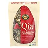 Nature's Path Organic Qi'A Superfood Chia Buckwheat and Hemp Cereal - Cranberry Vanilla - Case of 10 - 7.9 oz.