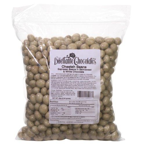 Bulk Chocolate Espresso Beans Marbled (Cheetah) - Dilettante - 5lb - Dilettante Espresso Beans