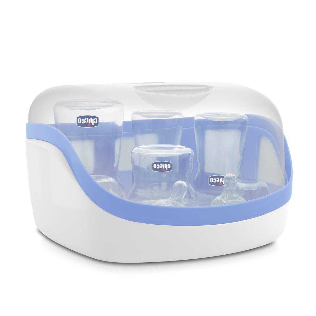 Chicco - Esterilizador microondas de hasta 5 biberones en 3 minutos product image