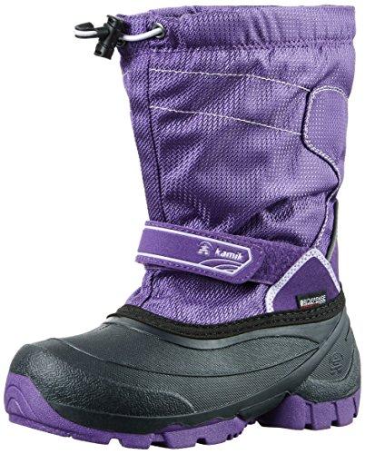 Kamik Unisex-Kinder Snowcoast Schneestiefel Violett (PUR-Purple)