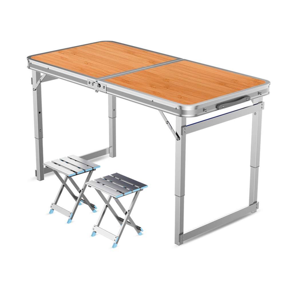 BETTY テーブル 折りたたみテーブル屋外ポータブルヘビーデューティスーパー長方形ホームシンプルデスクブラケットピクニックテーブルキャンプ/バーベキューパーティー/パーティー/市場/庭 (Color : Orange) B07SVVM3D5 Orange