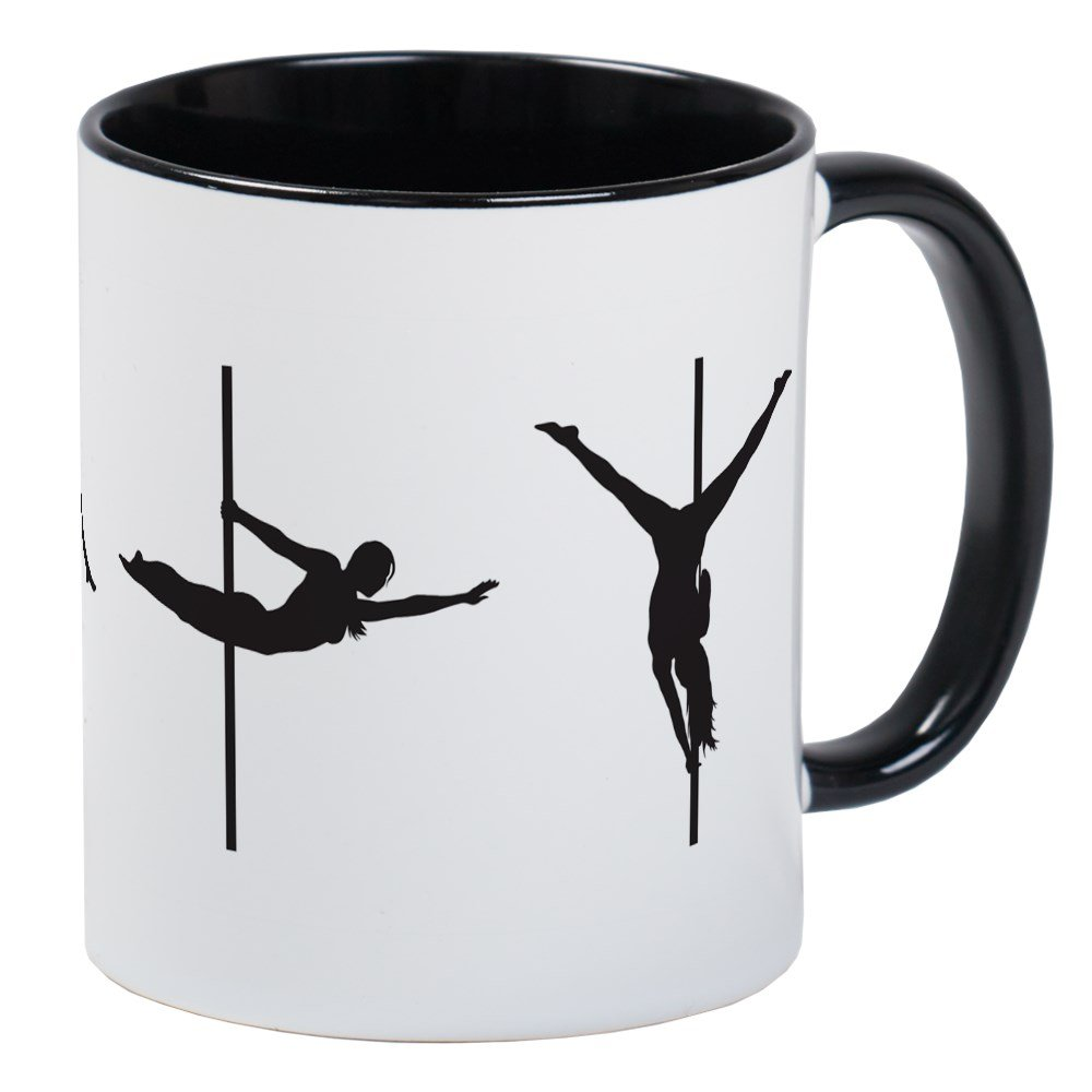CafePress - Pole Dance Mug - Unique Coffee Mug, Coffee Cup