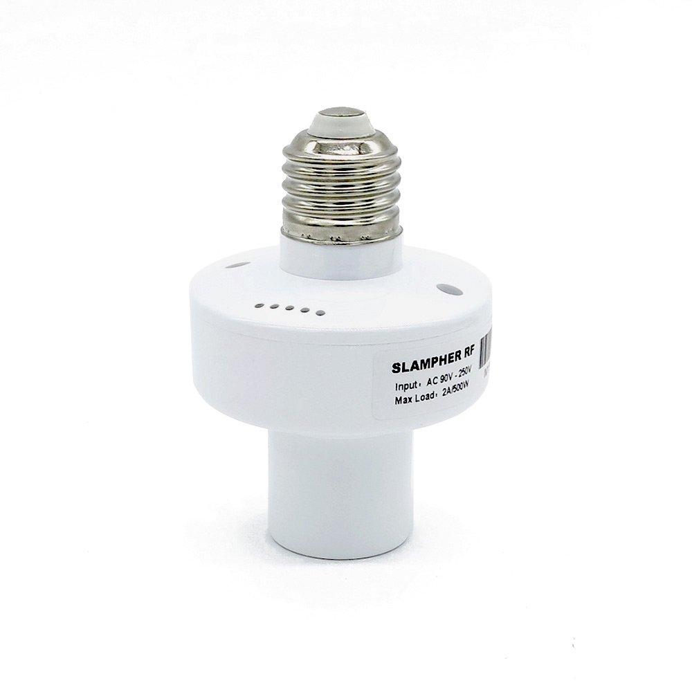 Sonoff Wifi E27 Slampher WIFI 433MHz Bulb Holder Smart Led Light Base Socket,Work with Amazon Alexa