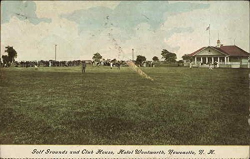 Golf Grounds and Club House, Hotel Wentworth New Castle, New Hampshire Original Vintage ()